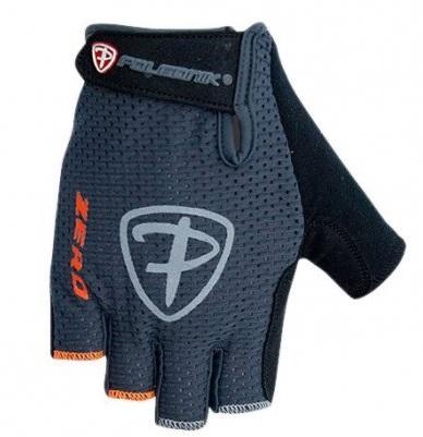 Cyklistické rukavice Polednik Zero šedé - XXL
