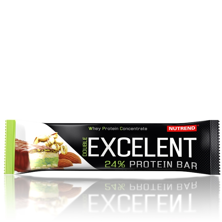 Nutrend Excelent protein bar double 85 g - citron-tvaroh-malina brusinka