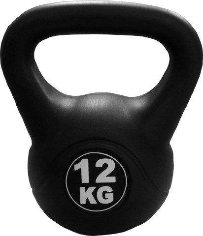 Kettlebell 12 kg - černá