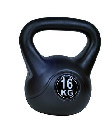 Kettlebell 16 kg - černá