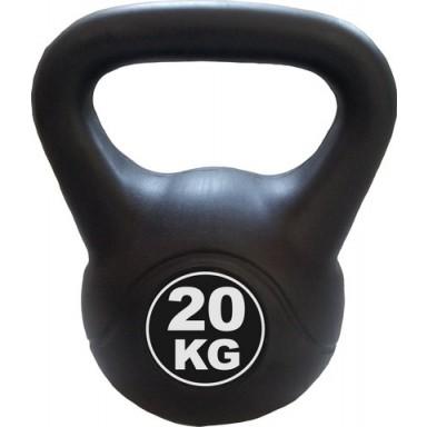 Kettlebell 20 kg - černá