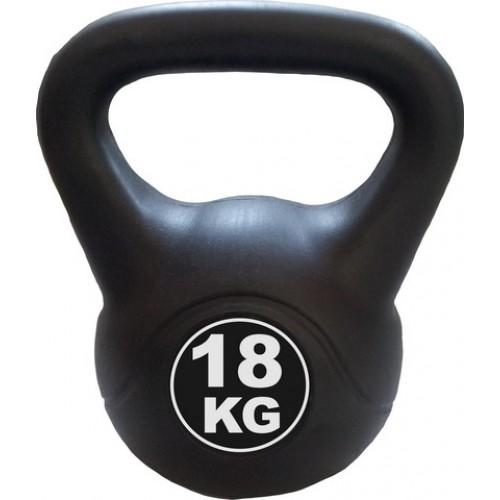 Kettlebell 18 kg - černá