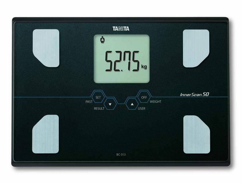Osobní digitální váha Tanita BC 313 - černá