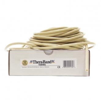 Guma na cvičení TheraBand Tubing 30,5 m béžová