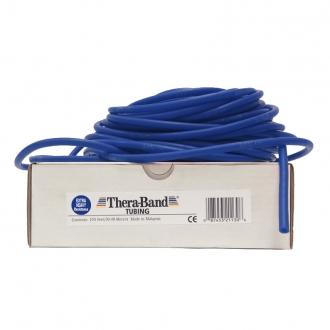Guma na cvičení TheraBand Tubing 30,5 m modrá