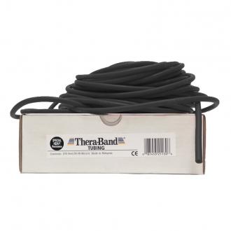 Guma na cvičení TheraBand Tubing 30,5 m černá