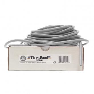 Guma na cvičení TheraBand Tubing 30,5 m stříbrná