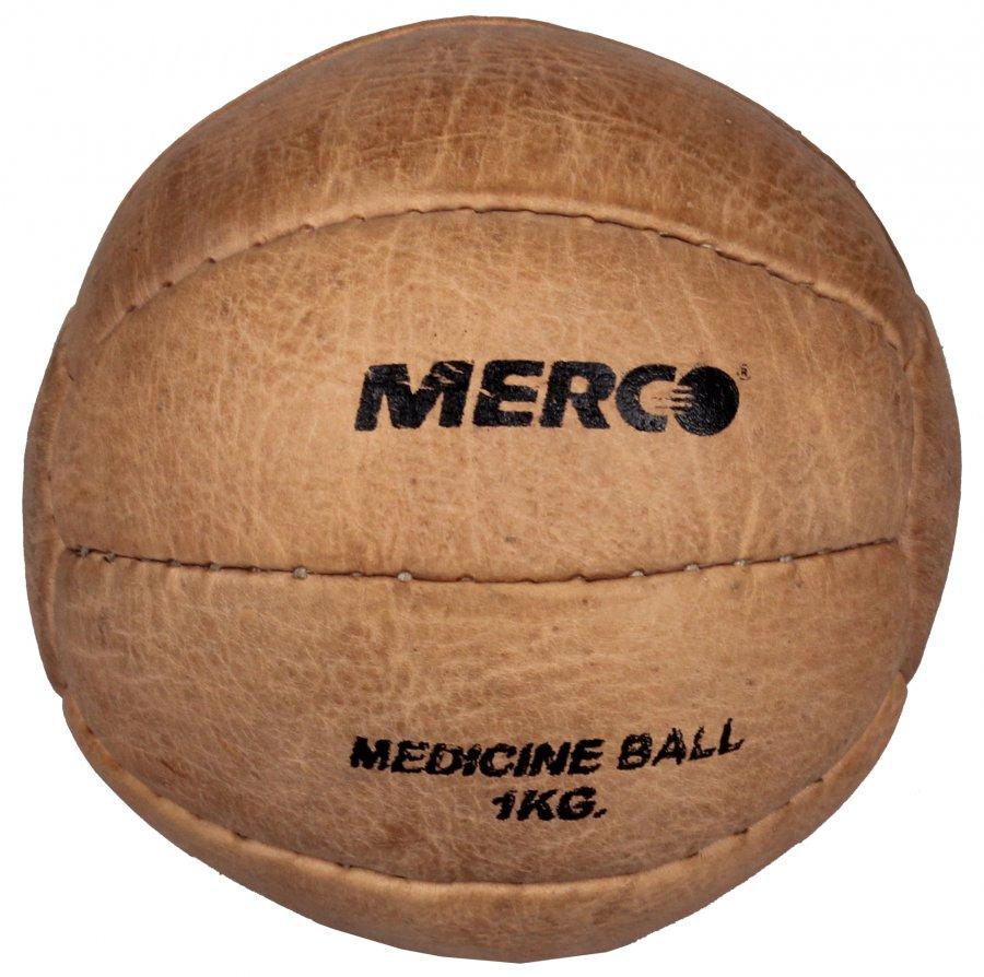Kožený medicinbal Retro 1 kg