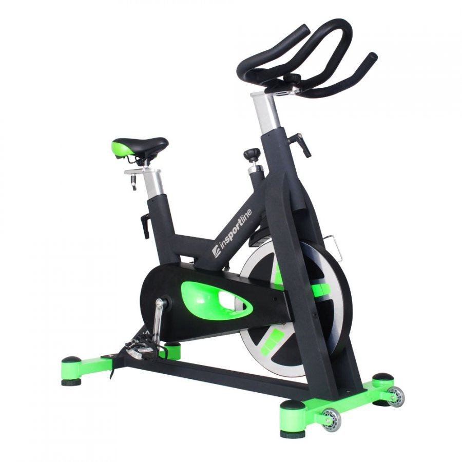 Cyklotrenažer inSPORTline Airin - černá-zelená