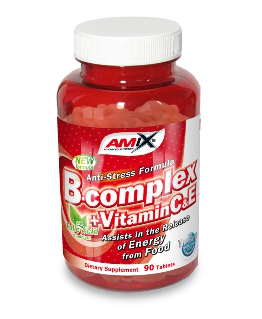 Amix B-Complex + Vitamin C & Vitamin E 90tbl