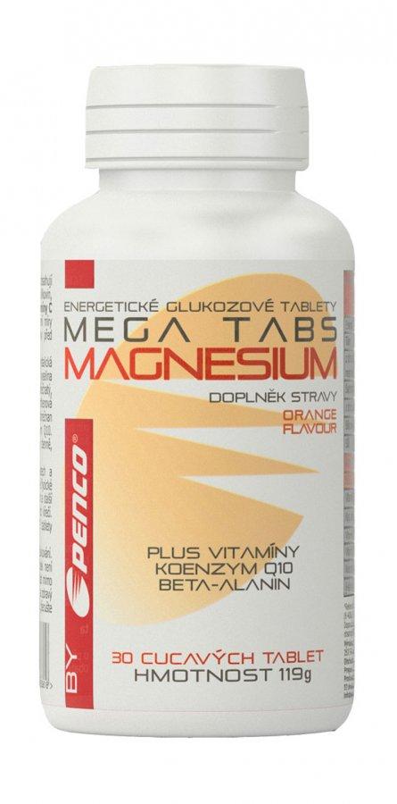 Penco Magnesium Mega Tabs 30 tbl - pomeranč