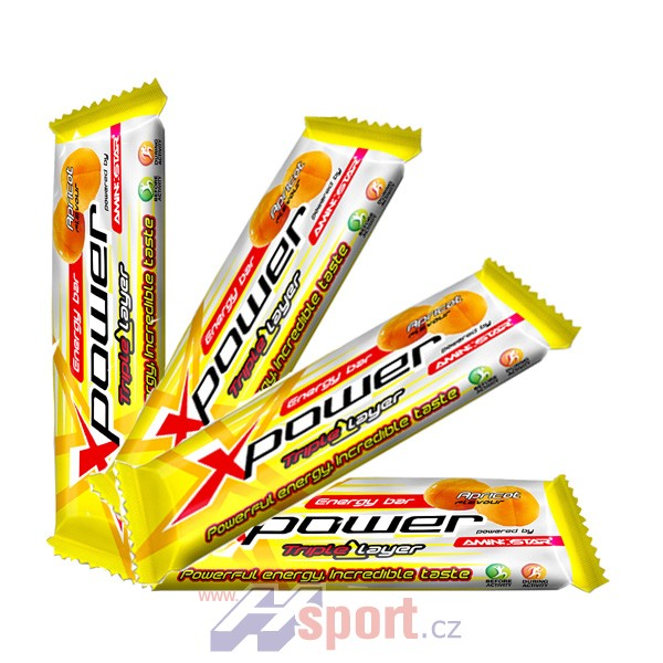 Xpower Energy bar TRIPLE LAYER 2+1 ZDARMA