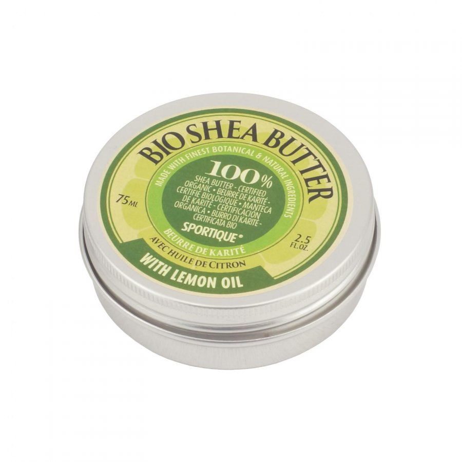 Sportique Bio Shea Butter 75 ml - Lemon