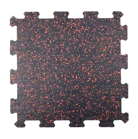 Attack Sportovní podlaha Puzzle 50 x 50 cm EPDM 40% - červená