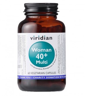Viridian 40+ Woman Multivitamin 60 cps