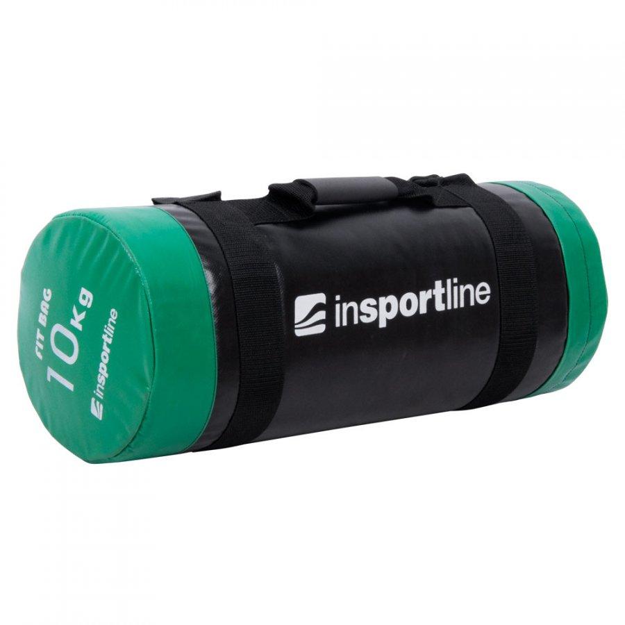 Vak na posilování s úchopy inSPORTline FitBag 10 kg