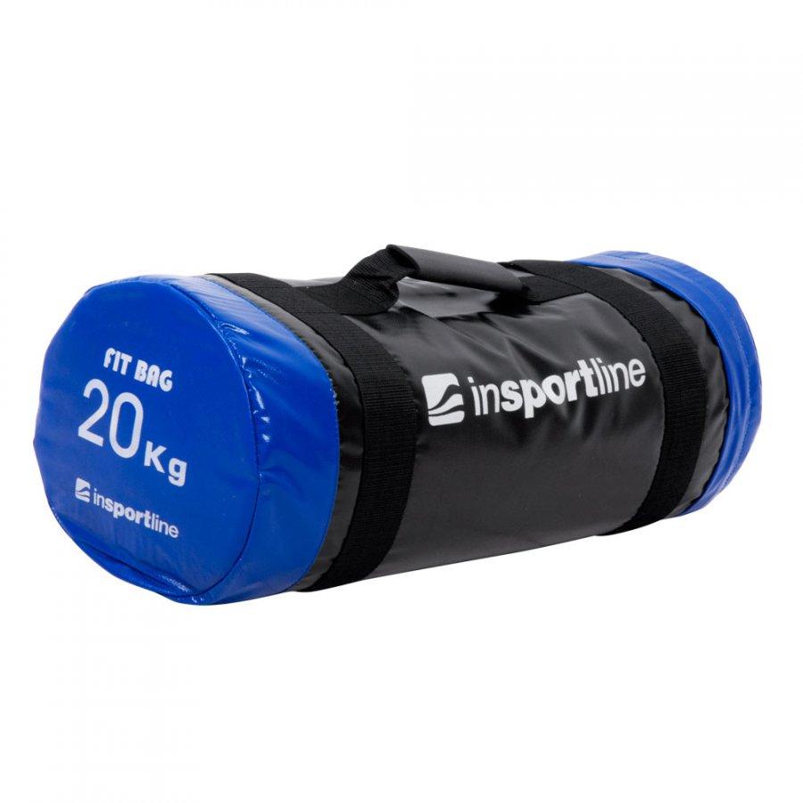 Vak na posilování s úchopy inSPORTline FitBag 20 kg