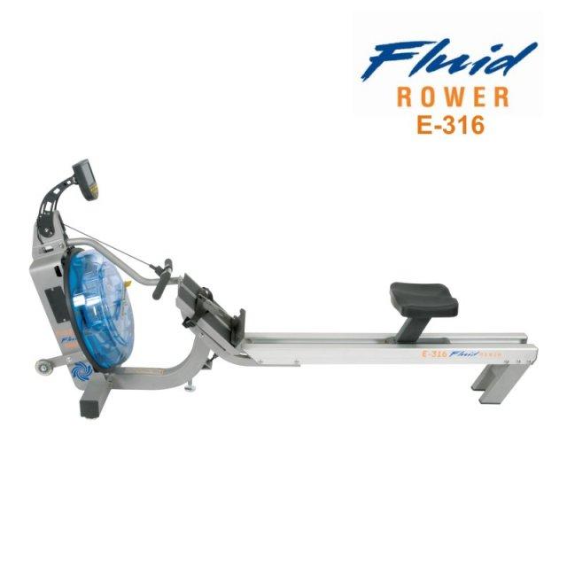 Veslařský trenažer vodní First Degree Fluid Rower E-316