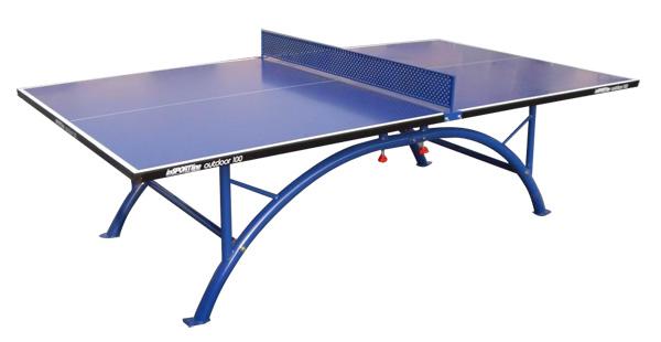 Stůl na stolní tenis venkovní inSPORTline OUTDOOR 100