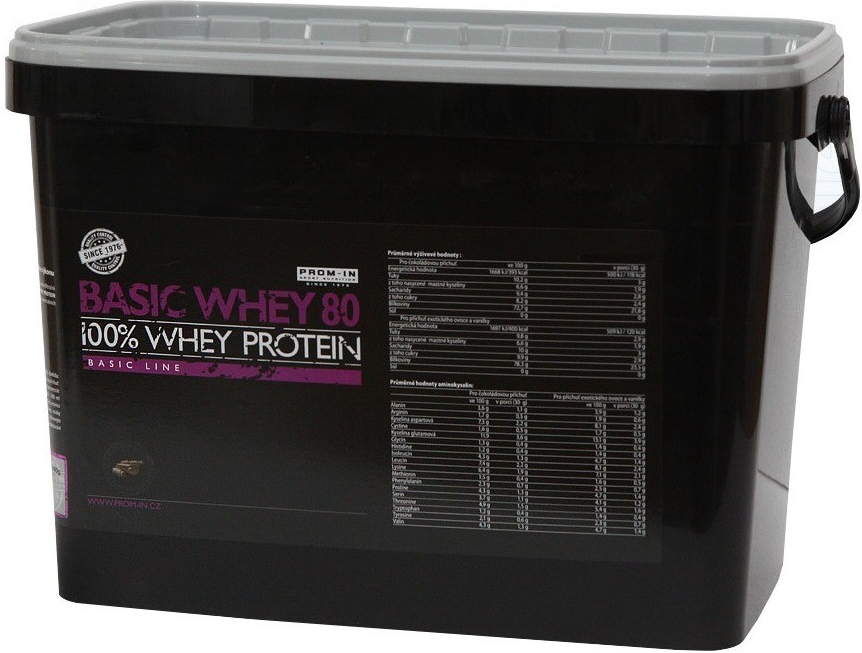 Prom-in Basic Whey Protein 80 - 4000 g - exotic