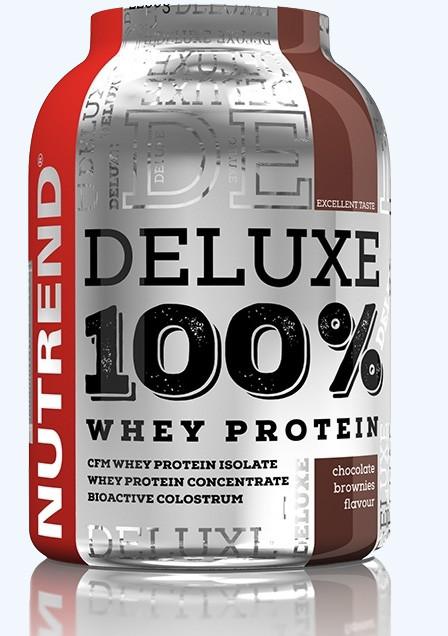 Nutrend Deluxe 100% Whey Protein 2250 g - čokoláda-mandle