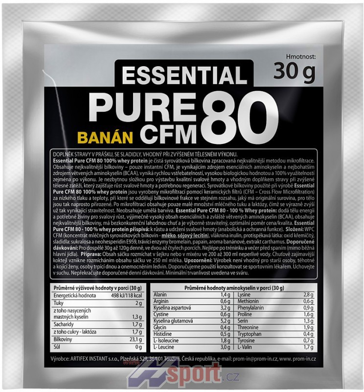 Prom-in Essential Pure CFM 80 - 30 g