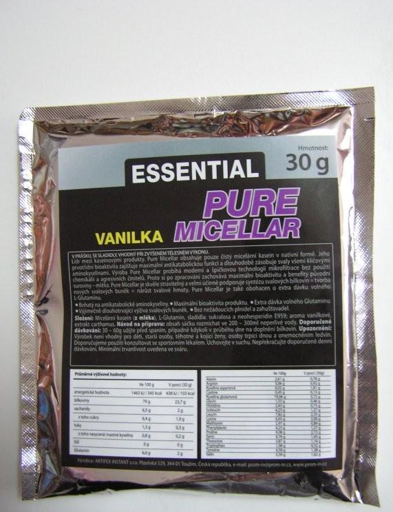 PROM-IN Essential Pure Micellar Casein 30 g - čokoláda