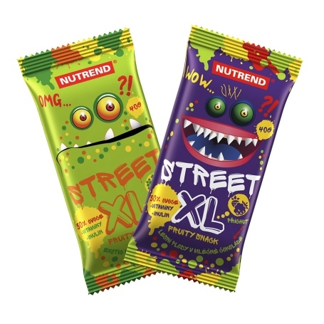 Nutrend Street XL Fruity 40 g - exotic