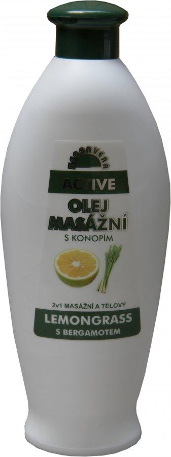Masážní olej Herbavera Active 550 ml