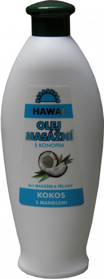Masážní olej Herbavera Hawai 550 ml