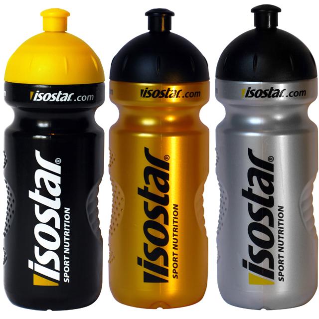 Isostar láhev 650ml - Push pull - žlutá - neon