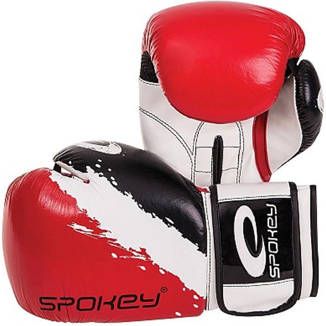 Boxerské rukavice Spokey Oni 10 oz - červená