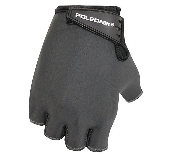 Cyklistické rukavice Polednik Basic 2015 černé - XXL