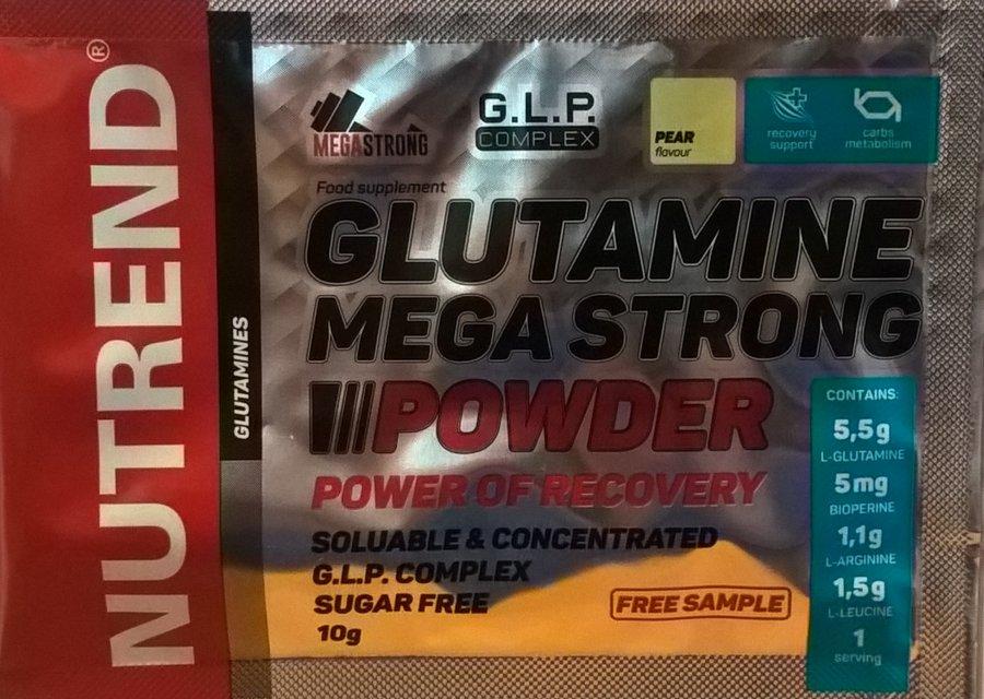 Nutrend Glutamine Mega Strong 10 g - hruška