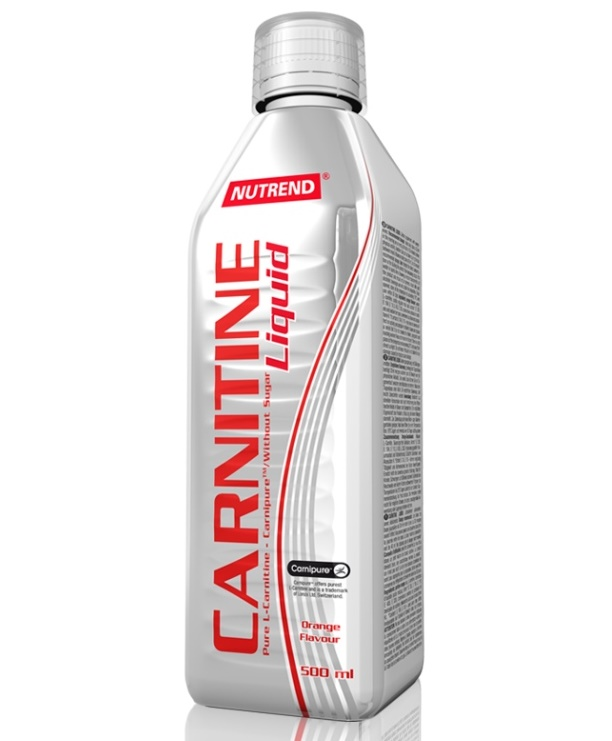 Nutrend Carnitine Liquid 500 ml - pomeranč
