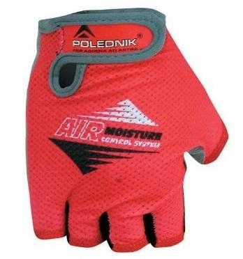 Cyklistické rukavice Polednik AIR 2015 červené - XL