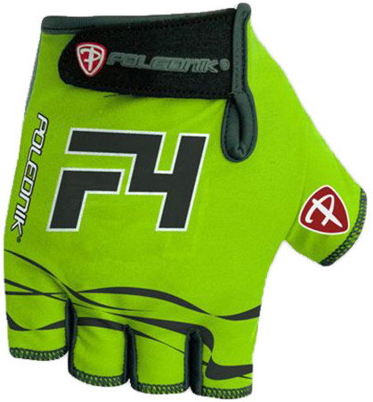 Cyklistické rukavice Polednik F4 2016 zelené - XXL