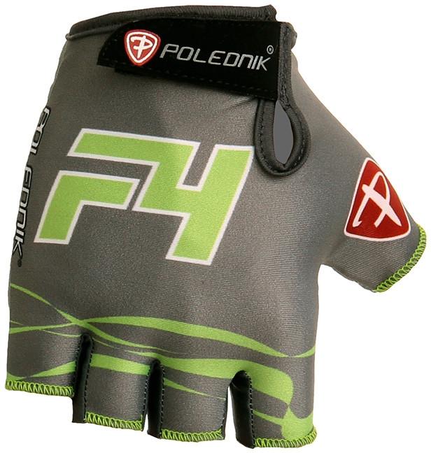 Cyklistické rukavice Polednik F4 2016 šedé - L