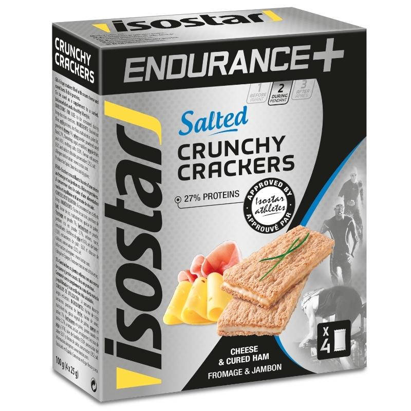 Isostar Endurance+ Crunchy Crackers 4 x 25 g