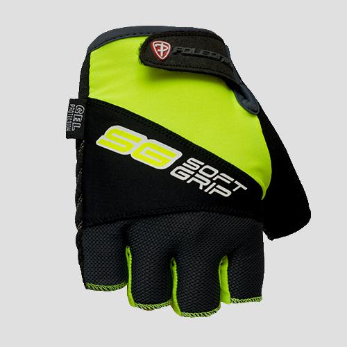 Cyklistické rukavice Polednik SOFT GRIP zelené - XL