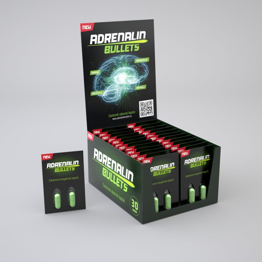 Adrenalin Bullets 2 cps