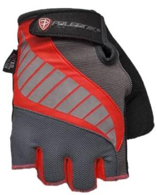 Cyklistické rukavice Polednik Gelmax červené - M