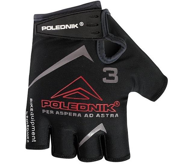 Dětské cyklistické rukavice Polednik F3 černé - 4