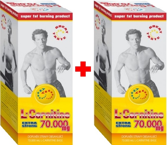 Holma L-Carnitine Extra Strong - 70.000 mg 1+1 zdarma - cherry-grep
