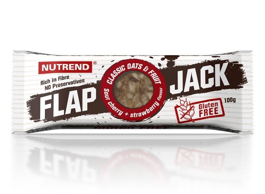 Nutrend Flapjack 100 g GLUTEN FREE 4+1 zdarma - čokoláda+banán s hořkou čokoládou