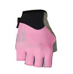 Dámské cyklistické rukavice Polednik Chloris růžové - M