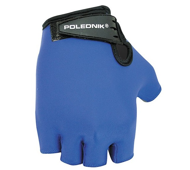 Cyklistické rukavice Polednik Basic 2015 modré - XL