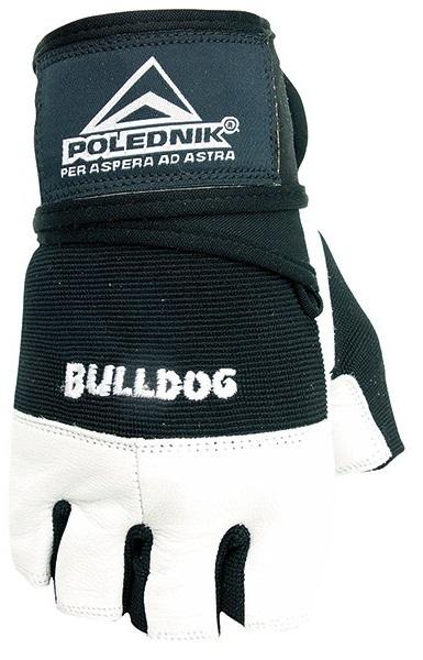 Fitness rukavice Polednik Bulldog černé - XXL