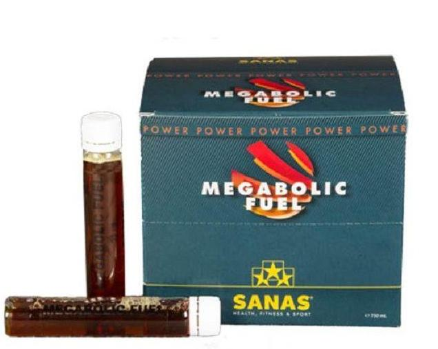 Sanas Megabolic Fuel 30 amp x 22 ml
