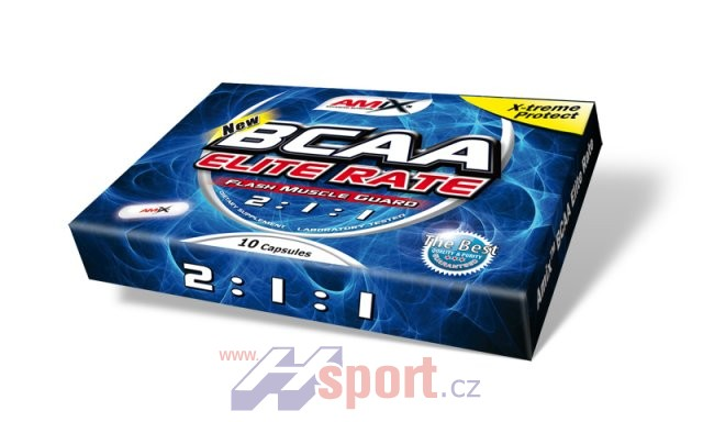 Amix BCAA Elite Rate 2:1:1 BLISTER PACK 10cps